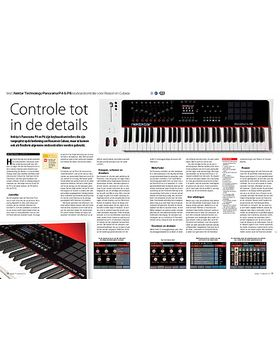 Nektar Technology Panorama P4 & P6 keyboardcontroller voor Reason en Cubase