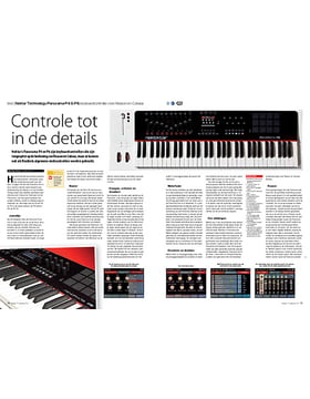 Nektar Technology Panorama P4 & P6 keyboardcontroller voor Reason en Cubase