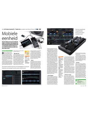 NI Traktor Kontrol Z1 en Traktor DJ dj-systeem voor iPad en iPhone