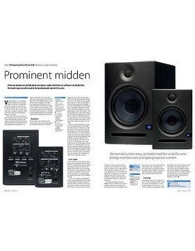 Presonus Eris E5 en E8 actieve 2-weg monitors