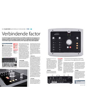 Audient iD22 audio-interface en monitorcontroller