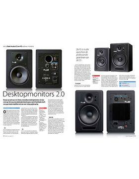 Fluid Audio C5 en F5 actieve monitors