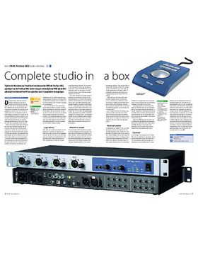 RME Fireface 802 audio-interface