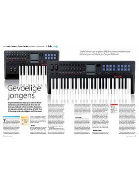 Korg Taktile en Triton Taktile controllers/synthesizers