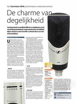 Sennheiser MK8 grootmembraan-condensatormicrofoon