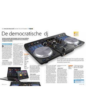 Hercules Universal DJ controller met usb of draadloos