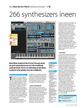 Best Service Titan2 software synthesizer