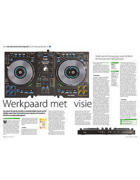 Hercules DJ Control Jogvision dj-controller/geluidskaart