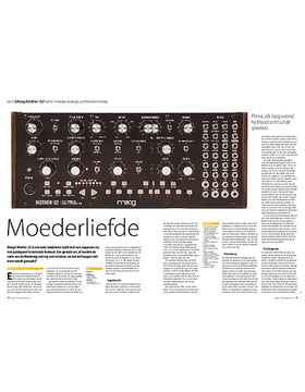 Moog Mother-32 semi-modulair analoge synthesizermodule