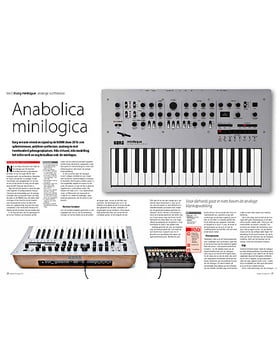 Korg minilogue analoge synthesizer