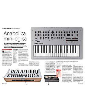 Korg minilogue analoge synthesizer