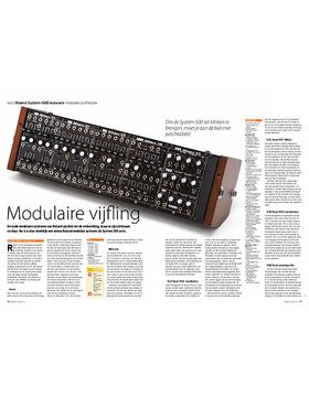 Roland System-500 eurorack modulaire synthesizer