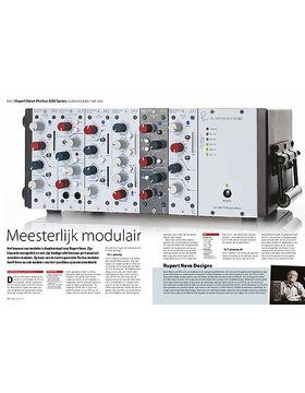Rupert Neve Portico 500 Series studiomodules met rack