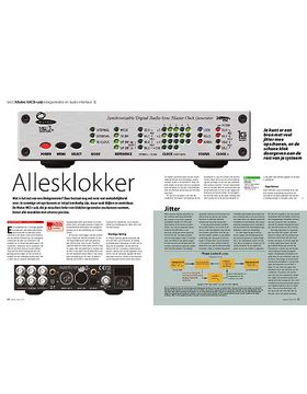 Mutec MC3+usb klokgenerator en audio-interface