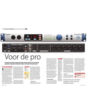 Presonus Studio 192 usb3.0-audio-interface