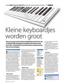 CME X-key Air 25 & 37 bluethooth-usb keyboardcontrollers
