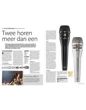 Shure KSM8 Dualdyne dynamische microfoon