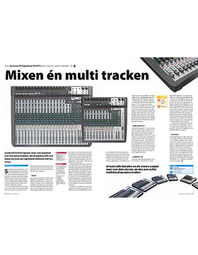 Soundcraft Signature 12 MTK usb-mixer en audio-interface