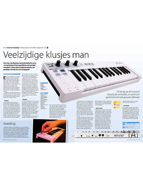 Arturia KeyStep minikeyboard-controller/sequencer