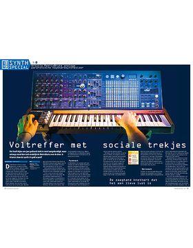 Arturia MatrixBrute analoge parafonische keyboardsynthesizer