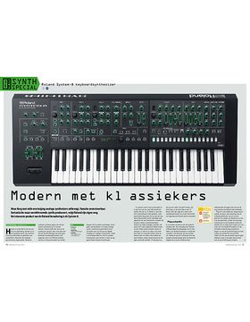 Roland System-8 keyboardsynthesizer