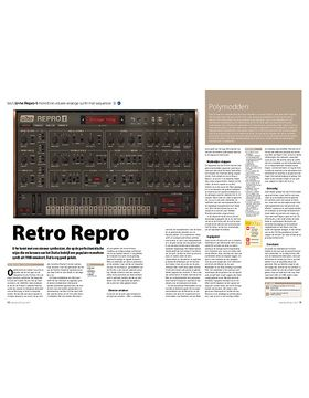 U-he Repro-1 monofone virtueel-analoge synth met sequencer