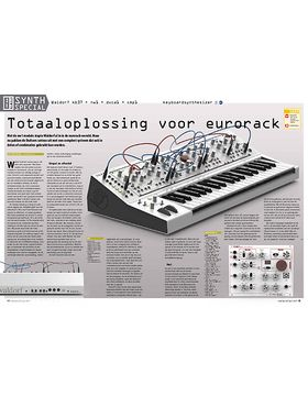 Waldorf kb37 + nw1 + dvca1 + cmp1 keyboardsynthesizer