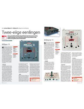 Jomox MBase 11 en M.Brane 11 analoge drumsynthesizers