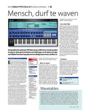 Waldorf PPG Wave 3.V virtuele synthesizer