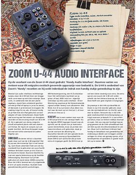 Zoom U-44 Audio interface (en meer!)