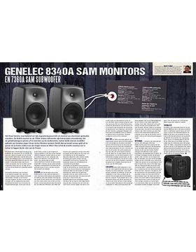 Genelec 8340-A monitor en7360-A Subwoofer