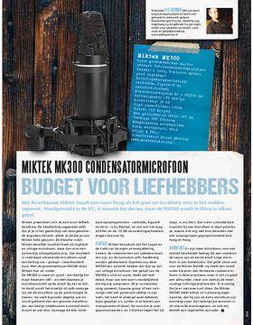 Miktek MK300 condensatormicrofoon