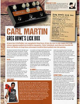 Lick Box Signature Greg Howe