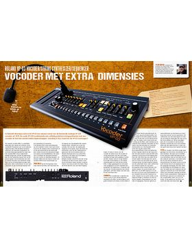 Roland VP-03 Vocoder, String Synthesizer en Sequencer