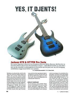 Jackson HT6 & HT7FM Pro Serie