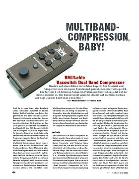 RMI/Lehle Basswitch Dual Band Compressor