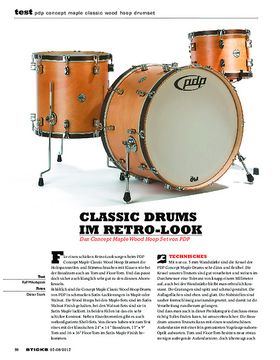 PDP Concept Maple Classic Wood Hoop Drumset