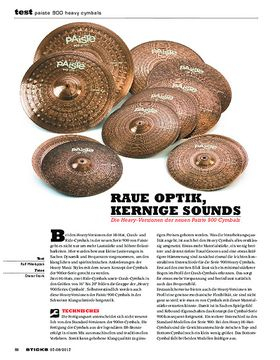 Paiste 900 Heavy Cymbals