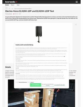 Electro Voice ELX200-10P und ELX200-12SP