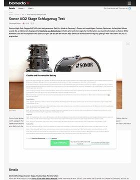 Sonor AQ2 Stage Schlagzeug