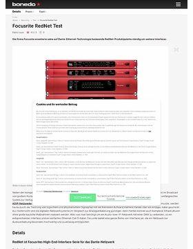 Focusrite RedNet