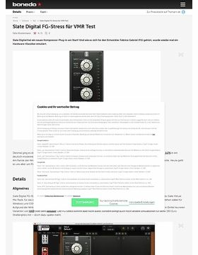 Slate Digital FG-Stress für VMR