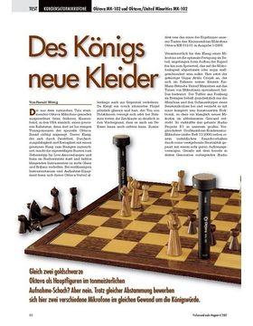 Des Königs neue Kleider: Oktava MK-102