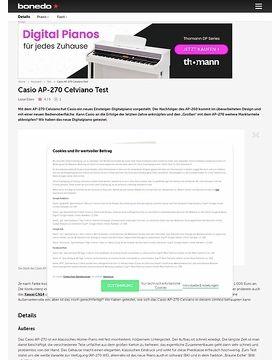 Casio AP-270 Celviano