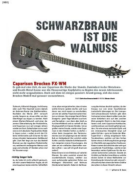 Caparison Brocken FX-WM