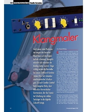 Klangmaler: Chandler Germanium