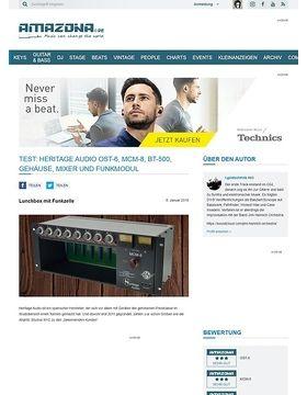 Heritage Audio OST-6, MCM-8, BT-500