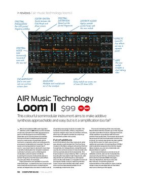 AIR Music Technology Loom II