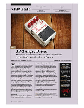 JB-2 Overdrive/Distortion