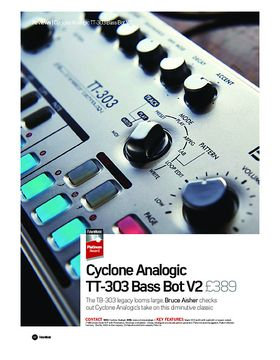 Cyclone Analogic TT-303 Bass Bot V2